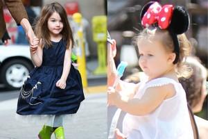 Сури Круз и Харпър Бекъм диктуват модата при децата