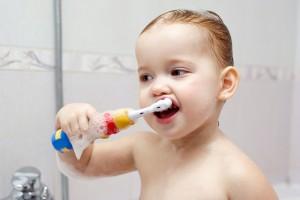 За бели и и здрави зъби на малкото дете