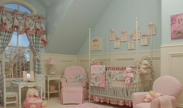 Как да подредим стаята на бебето?