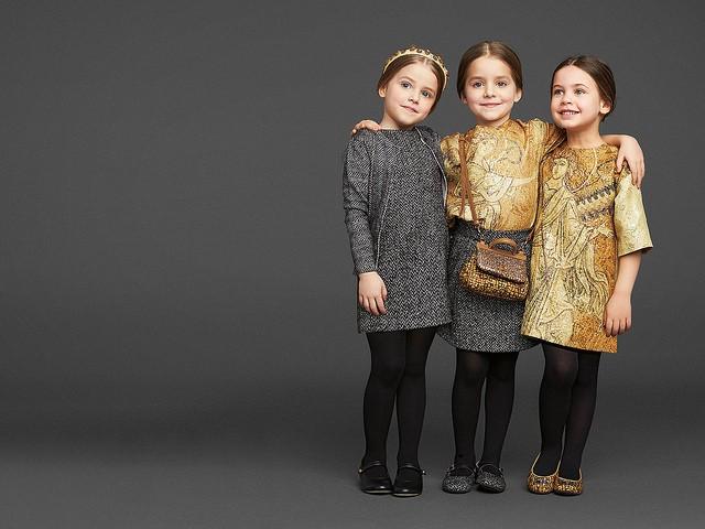 Детска колекция Dolce&Gabbana есен-зима 2013