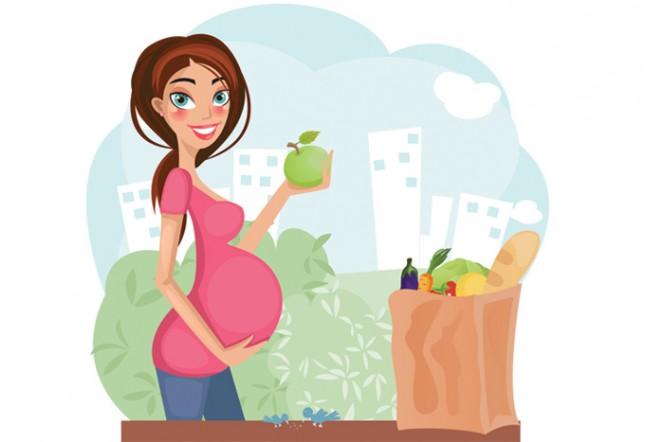 """Лятна """"диета"""" за бъдещата майка"""