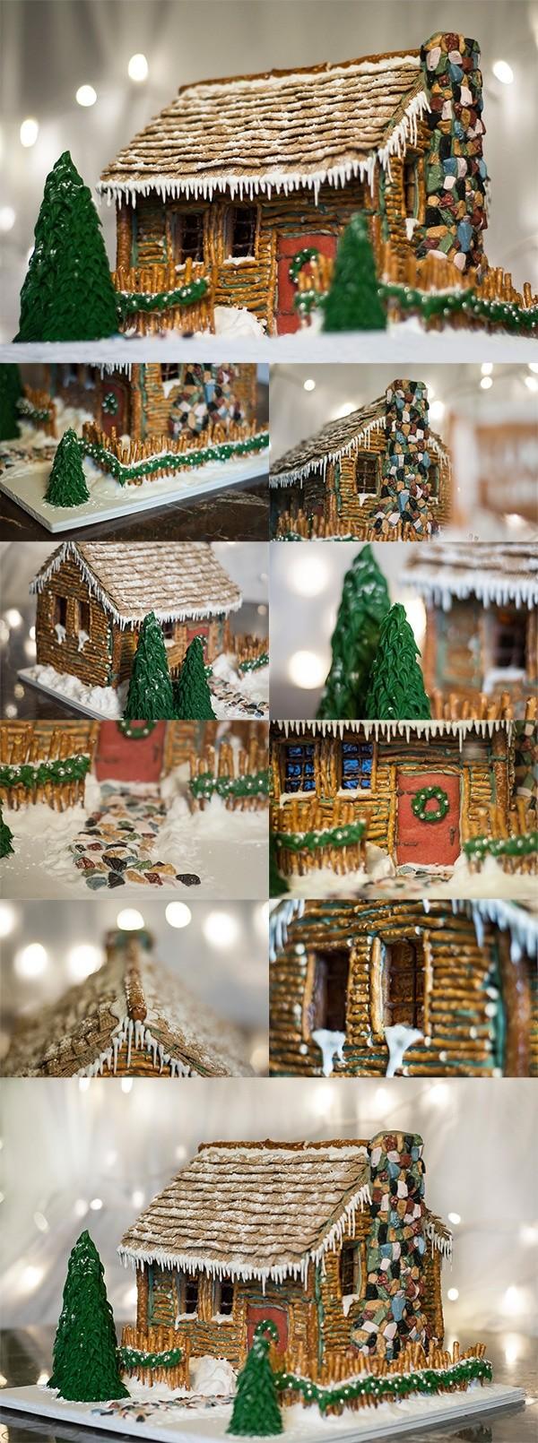 Коледни къщички от солети