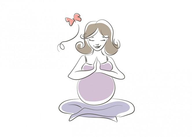 Лека бременност и раждане с помощта на йога