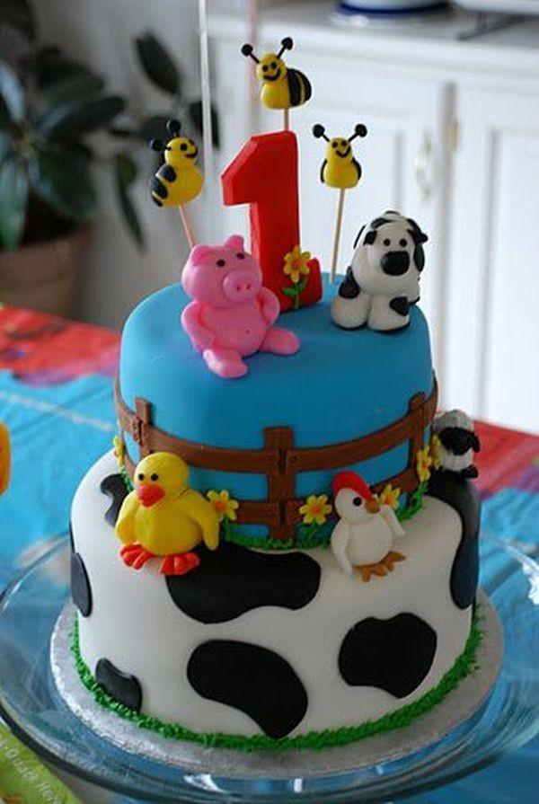 Идеи за торти за първи рожден ден