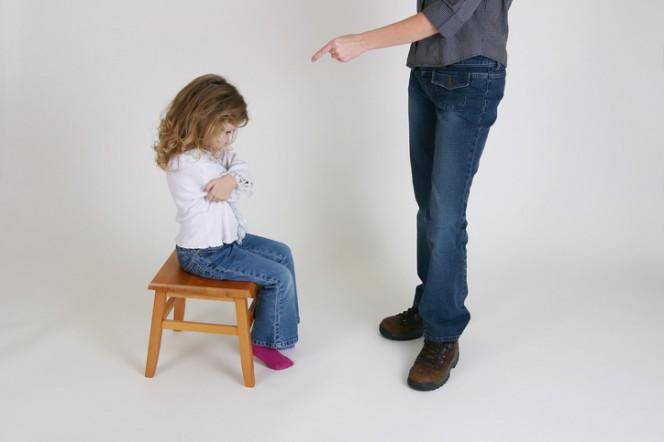 Физическото наказание се отразява върху детското развитие