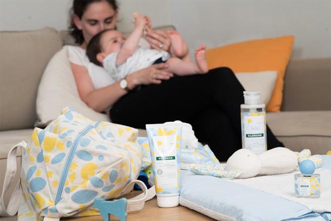 Натурална грижа за кожата на бебето от Klorane