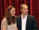 Подариха бебешки ританки Уилям и Кейт