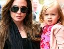 Дъщерята на Анджелина Джоли не се страхува от страшните й костюми