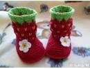 Плетени бебешки терлички (буйки)