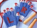 Плетени детски ръкавички