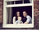 Кейт и Уилям показаха порасналия Джордж
