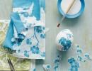Яйца, украсени с декупаж със салфетки