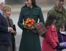 Кейт Мидълтън, принц Уилям, принц Джордж и принцеса Шарлот в Канада