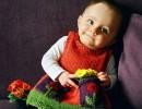 Плетени детски рокли