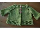 Детски плетени жилетки