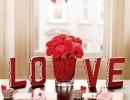 Романтичен интериор за Свети Валентин