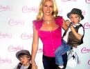 Бритни Спиърс и 5-годишният Шон Престън и 4-годишният Джейдън Джеймс