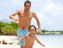 Лудории на плажа, разходки в планината – с татко!